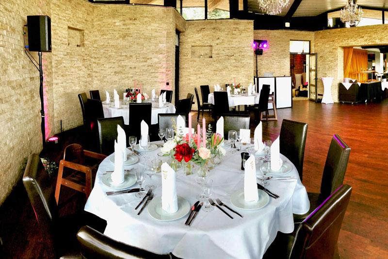 Hochzeit feiern Essen